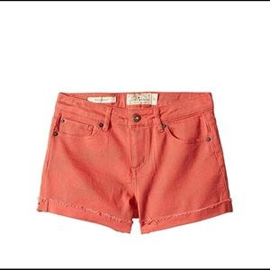 Lucky Brand Big Girls Coral Shorts/Sz:14/NWT